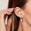 Thumbnail: Earrings Summer Palm Silver