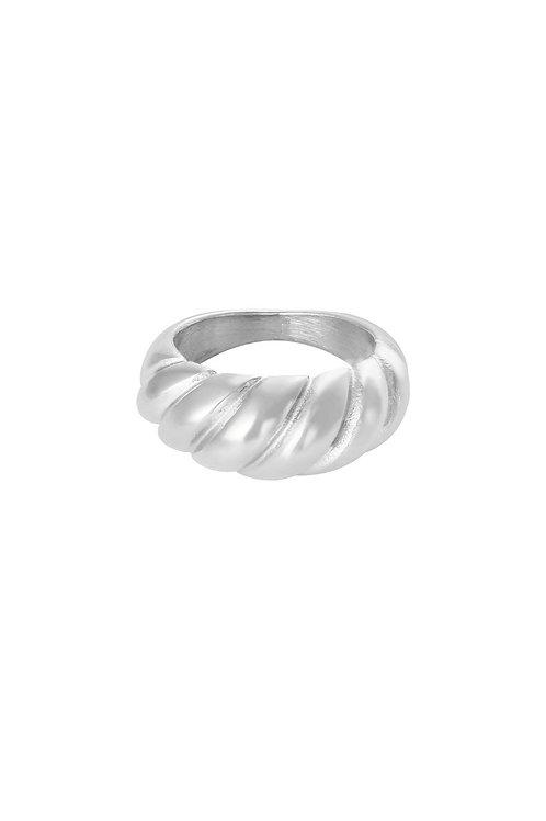Ring Twist Silver