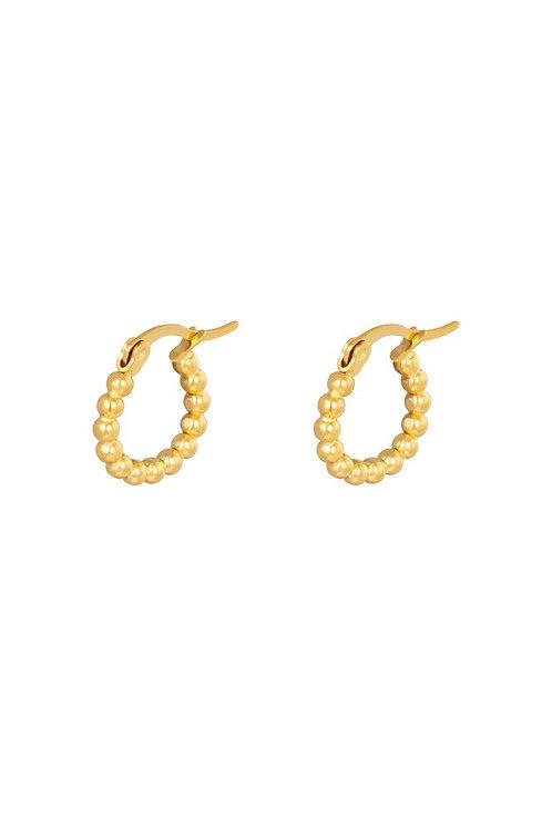 Earrings Little Dots Gold