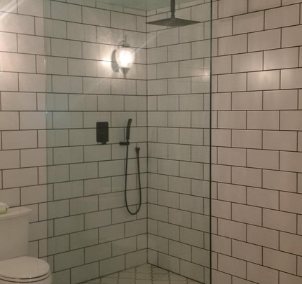 Custom Shower Glass Wall