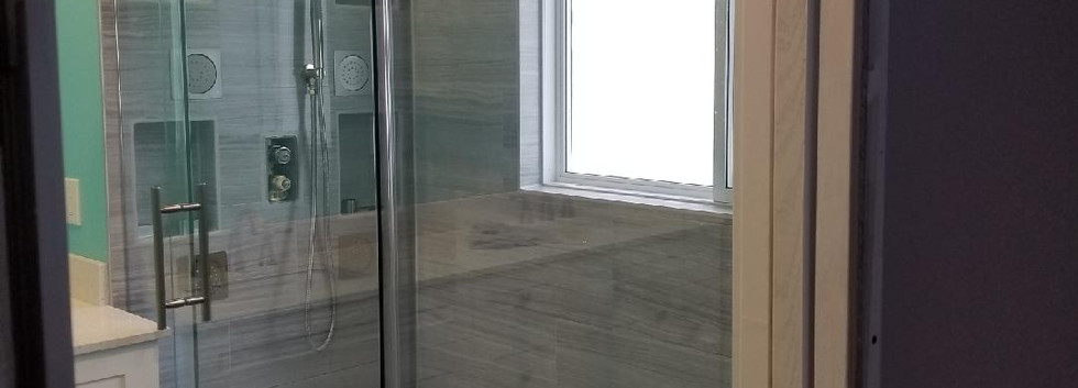 Sliding Glass Shower Enclosure