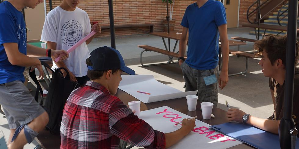 Teen and Adult Volunteer Meeting