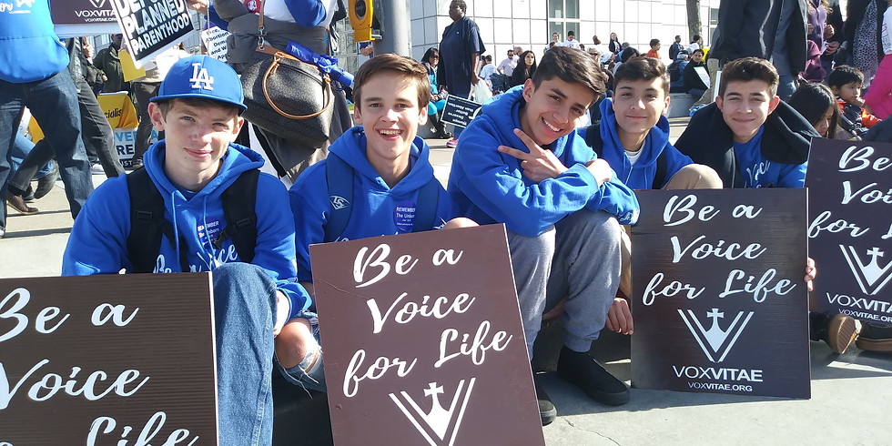 Bus to the Walk for Life