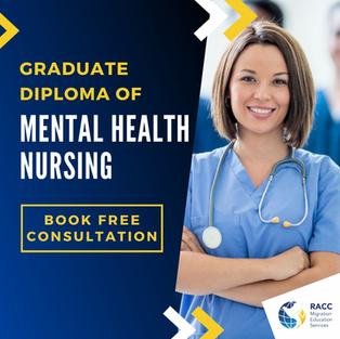 Graduate Diploma of Mental Health Nursing