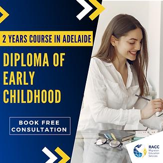 Diploma of Early Childhood - SA
