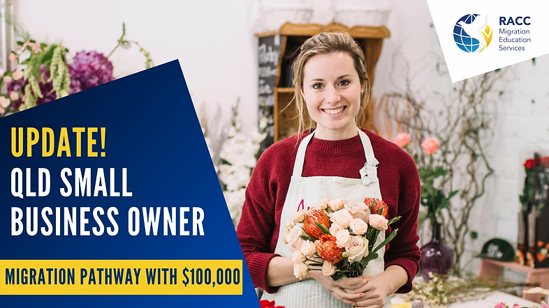 Queensland Small Business Owner Pathway
