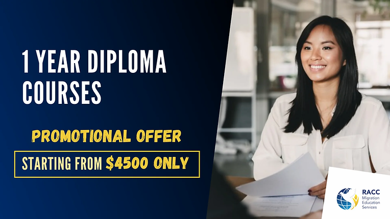 1 year diploma courses