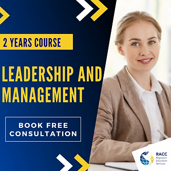2 Years Course Leadership and Management