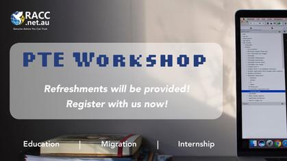 PTE Workshop (Free Event)