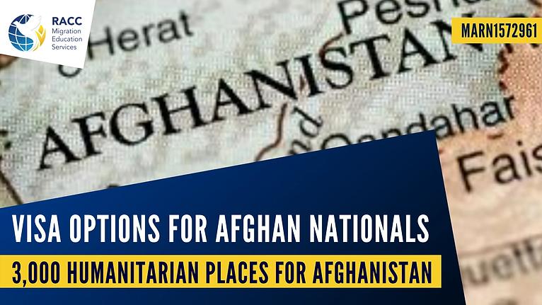 Visa Options for Afghan Nationals