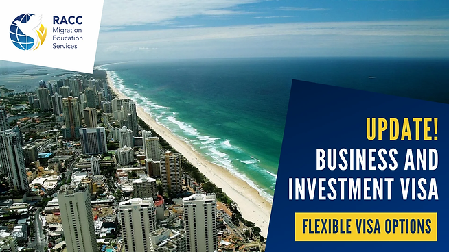 Business and INvestment Visa Flexibility