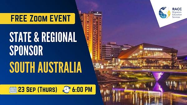 South Australia State and Regional Sponsor