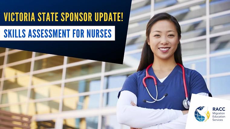 Nursing Victoria State Sponsor