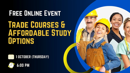 Trade Courses and Affordable Study options