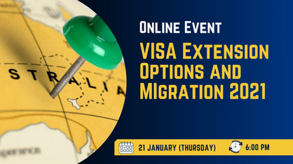 Visa Extension Options and Migration 2021
