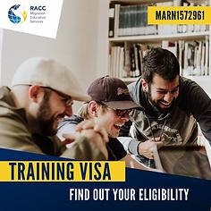 Training Visa