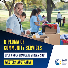 Diploma of COmmunity Worker Perth