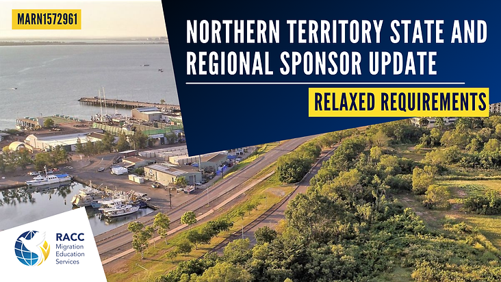 Northern Territory Regional Migration