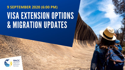 Visa Extension options and Migration Updates (Free Online Seminar)