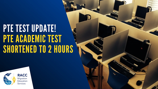 PTE Test update