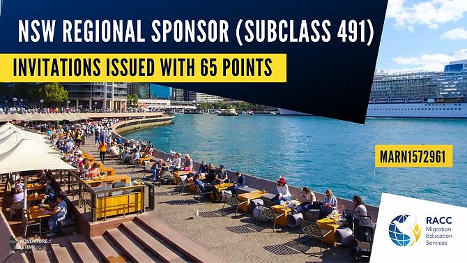 NSW Regional sponsor