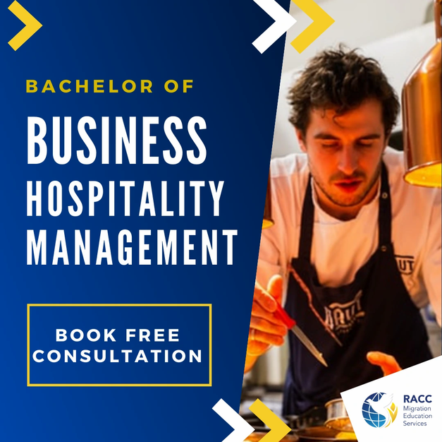 Bachelor of Business hospitality management