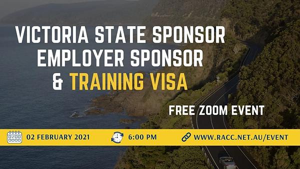 Victoria State Sponsor_Employer Sponsor