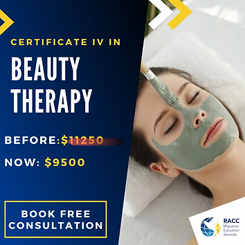 certificate iv in beauty therapy