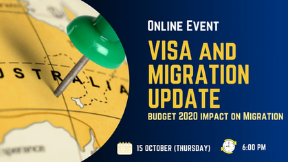 Visa and Migration Update - Budget 2020 Impact on Migration