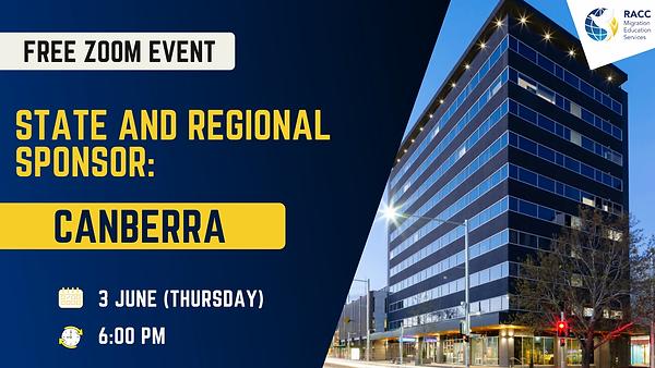 Canberra State and Regional Sponsor.webp