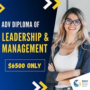 Adv Dip Leadership & Management