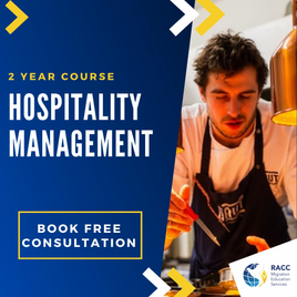 2-year course in Hospitality Management