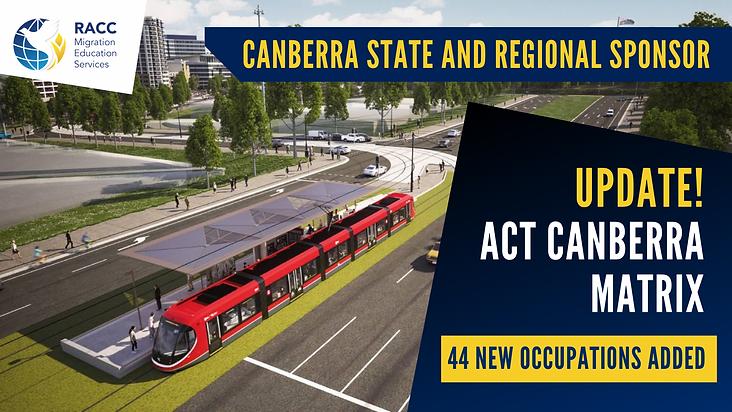 ACT Matrix_ACT Critical List_Canberra Ma