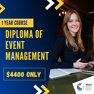 Diploma of Event Management