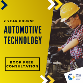 2-year course in Automative Technology