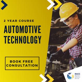 Diploma of Automotive Technology
