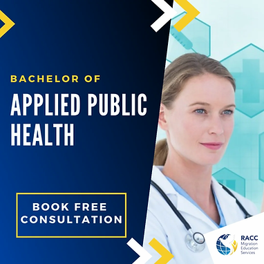 bachelor or applied public health