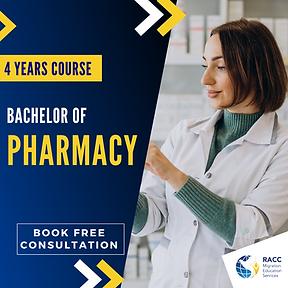 Bachelor of Pharmacy