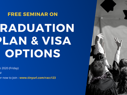 Graduation Plan and Visa Options
