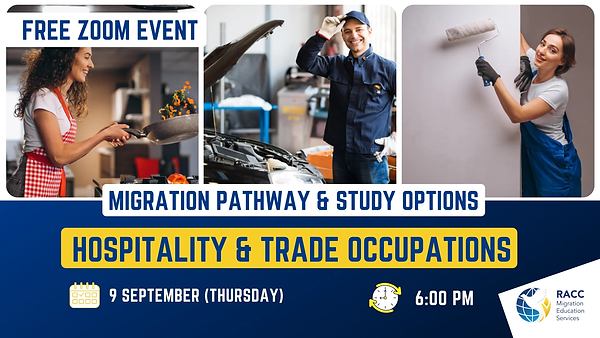 Event trade occupation