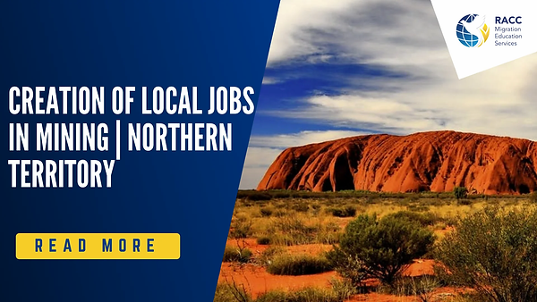 Northern Territory local jobs creation i