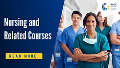 Nursing and related courses