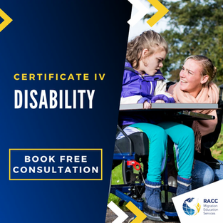 Certificate IV in Disability