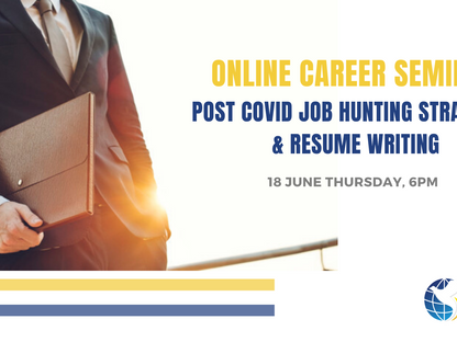 Online Career and Resume Writing Seminar