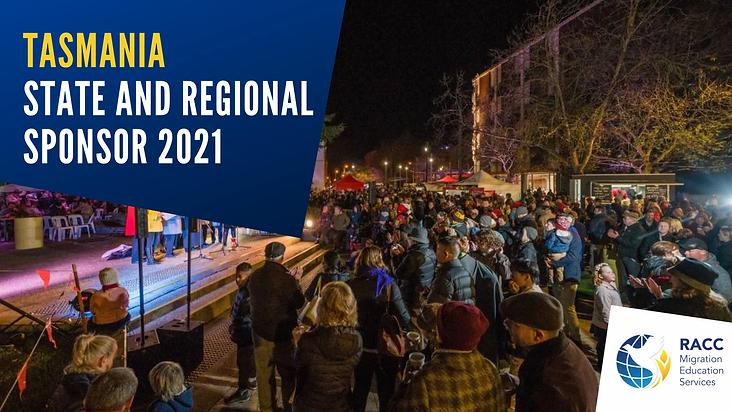 Tasmania State Sponsor 2021