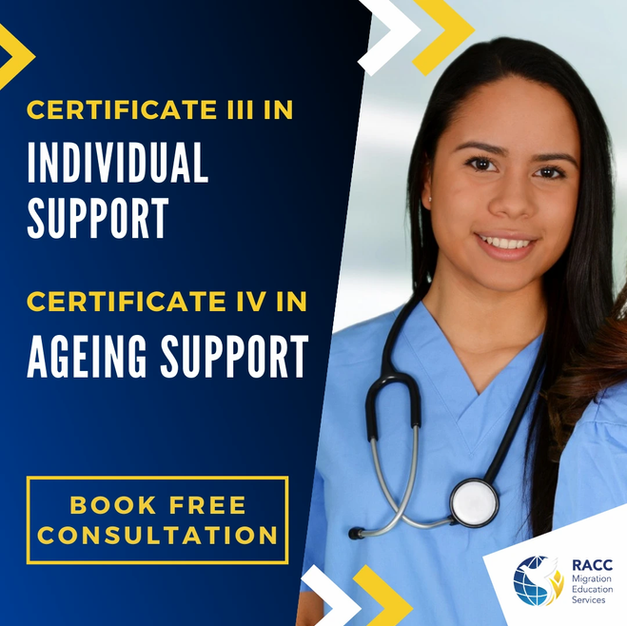 Certificate III in Individual Support & Certificate IV in Ageing Support