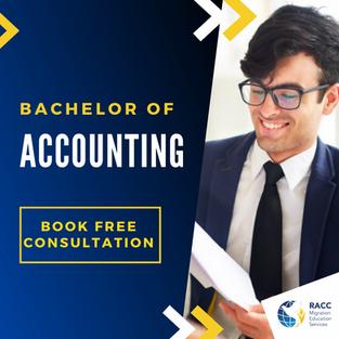 Bachelor of Accounting