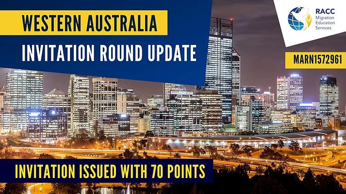 Western Australia Invitation Round Update.webp