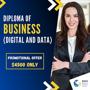 Diploma of Business (Digital and Data)