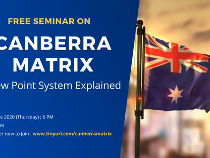Canberra Matrix : Migration Pathway
